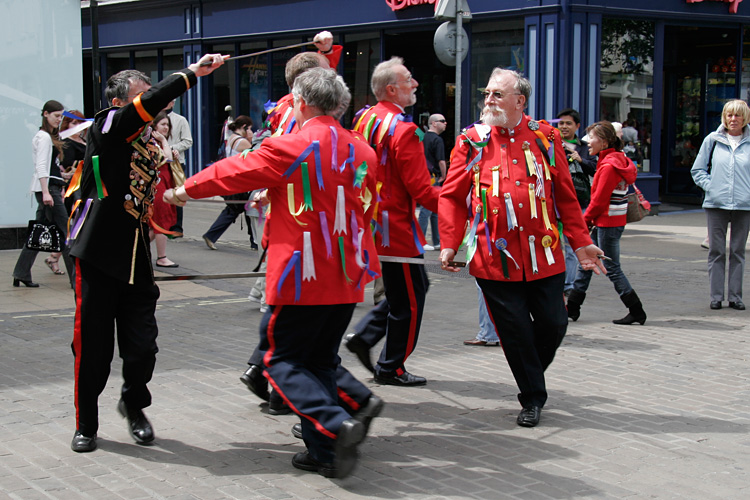 Photograph of Redcar Sword Dancers
